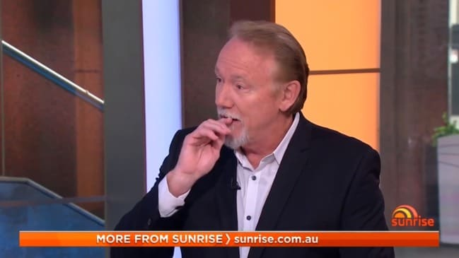 Ron Wilson brought to tears over bushfire tragedies (Sunrise)