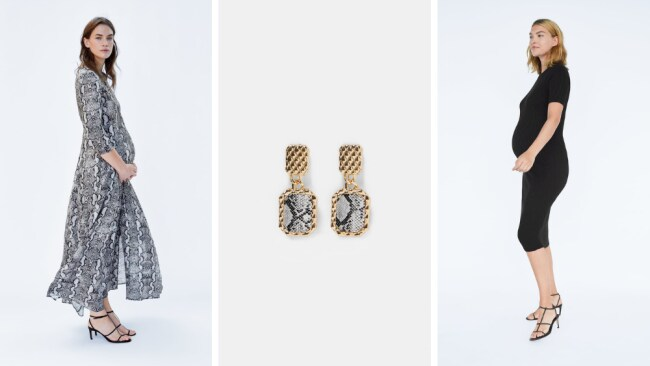 Zara has some fab frocks and accessories for our pregnant friends. Pictures: Zara Source: Supplied