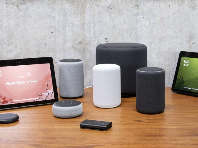 An assortment of smart home devices. Picture: Getty Images