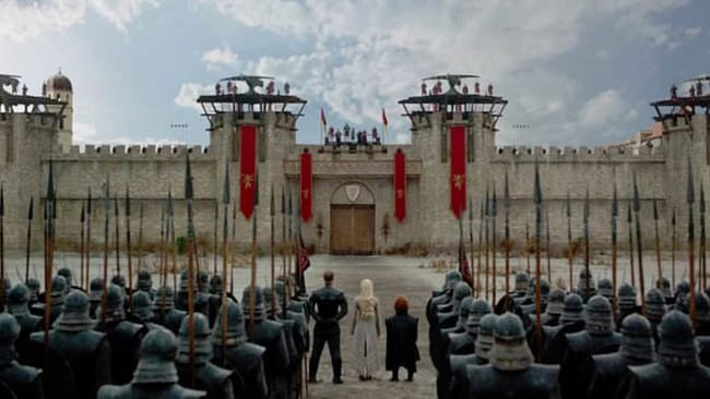 Spot anything different about King's Landing? Picture: HBO