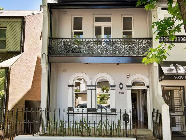 No. 156 Queen St, Woollahra, sold for $2.8 million.