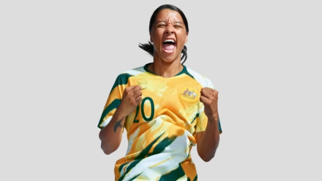 Team captain Sam Kerr says the girls have earned the new uniform. Image: Supplied.