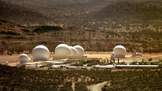 Pine Gap just outside Alice Springs, arguably Australia's most secret place.