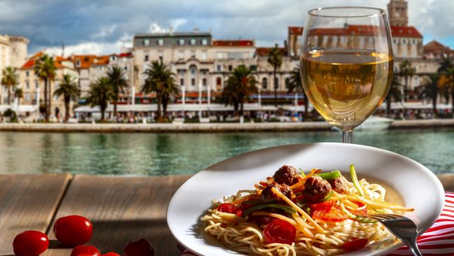 Food, wine, Croatia and a pay cheque. What could be better?