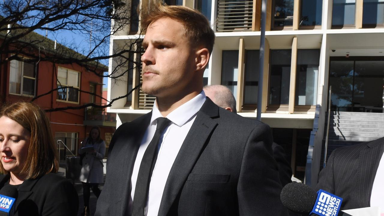 St. George Illawarra Dragons player Jack de Belin will face court in February accused of rape.