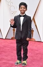 Sunny Pawar attends the 89th Annual Academy Awards on February 26, 2017 in Hollywood, California. Picture: AFP