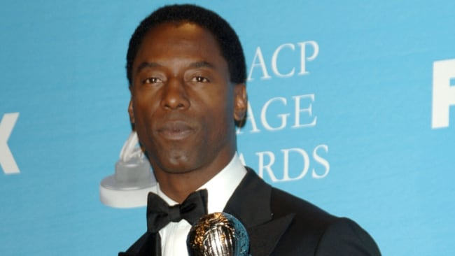 Dr. Preston Burke and his saxophone made a thrilling duo. Image: Getty.