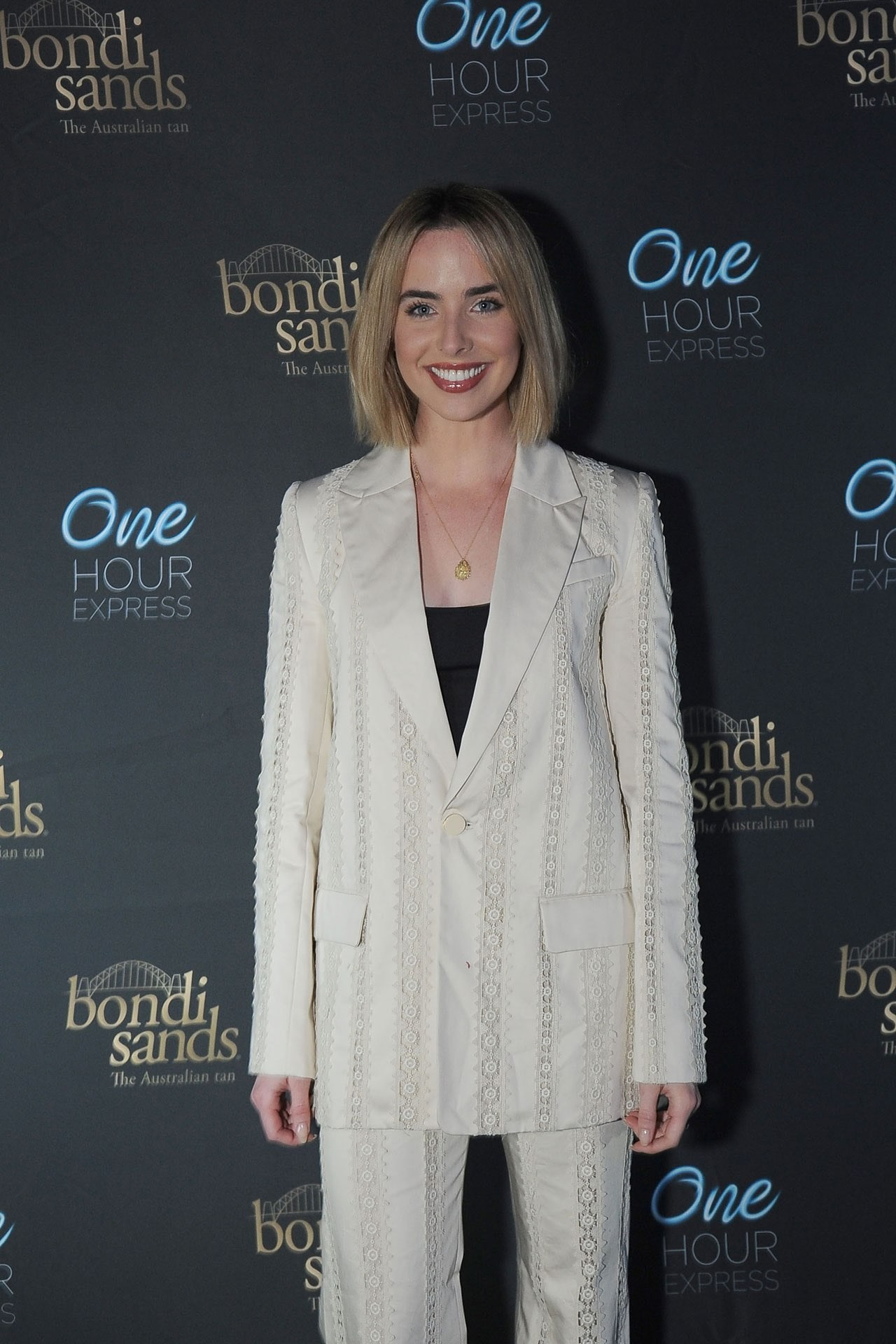 Guests included Ashleigh Brewer (pictured), Stephanie McIntosh and Jason Dundas
