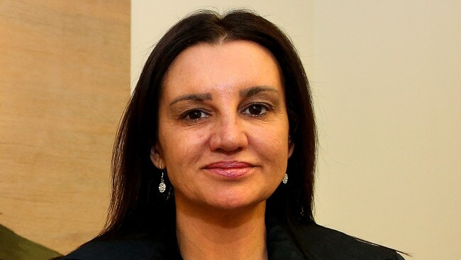 Jacqui Lambie had a career in the military. Picture Kym Smith