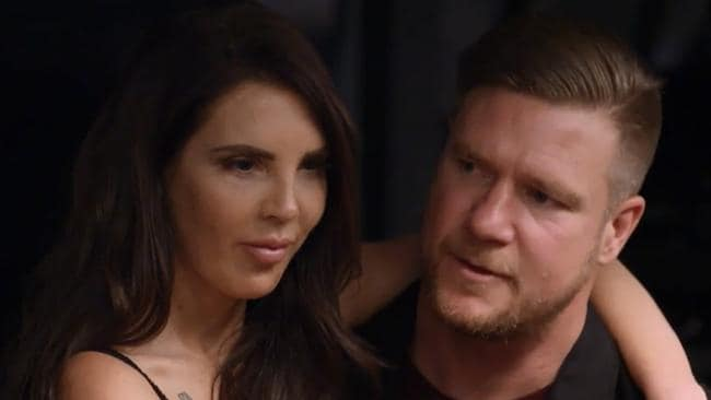 Tracey Jewel and Dean Wells were one of MAFS most divisive couples. Picture: Supplied