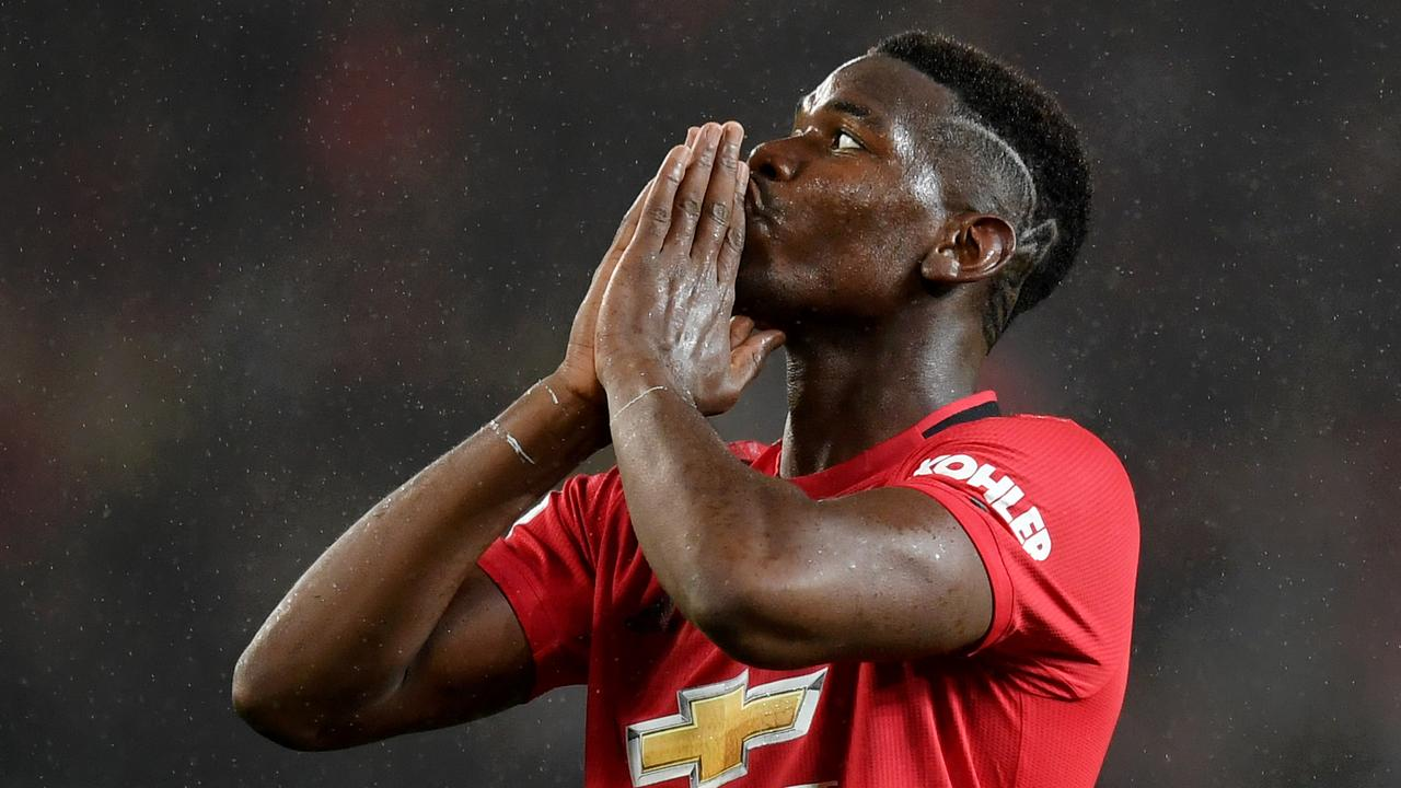 Paul Pogba has been out of action for Manchester United