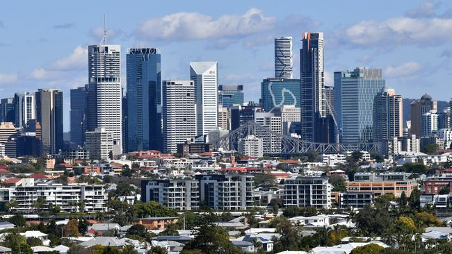 Housing affordability in Brisbane is the best it has been in 10 years, according to a new report. Image: AAP/Darren England.