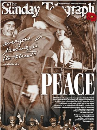 Pick up your 20-page commemorative Remembrance Day liftout in tomorrow's Sunday Telegraph.