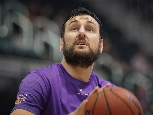 Andrew Bogut was announced the NBL's Most Valuable Player in 2019