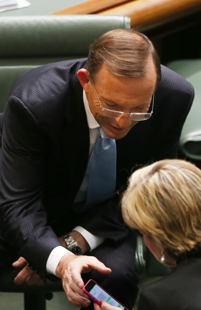 PM: Haha, classic! Block Hockey. Bishop: *blocked* Picture: Gary Ramage