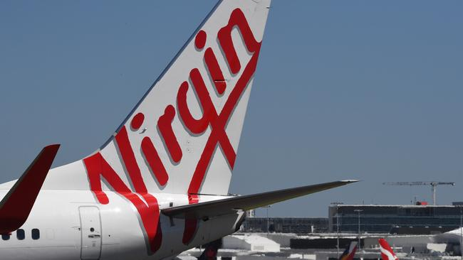 Mr Borghetti has been at Virgin Australia for a decade. Picture: AAP/Peter Rae