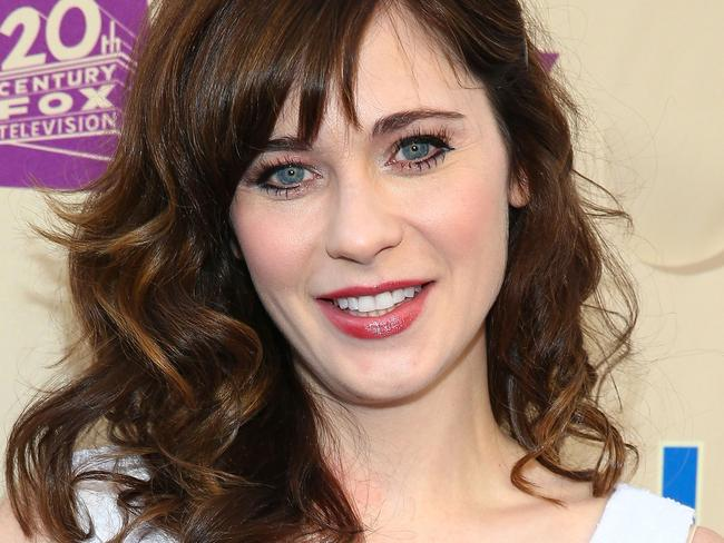 Zooey Deschanel shared Sarah's video, and her argument against body shaming hit a whole new audience. Picture: Imeh Akpanudosen/Getty Images