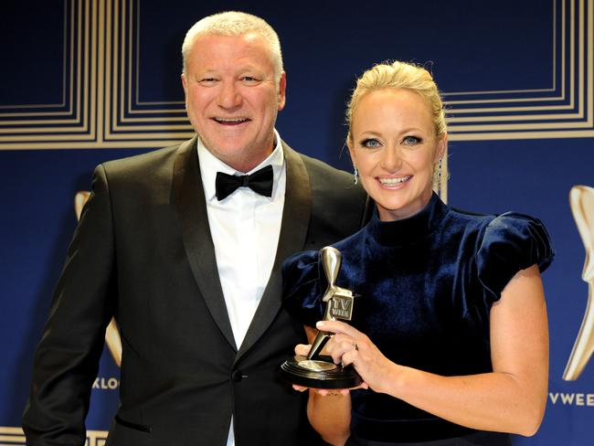 Scott Cam and Shelley Craft of the Nine Network's The Block. Picture: AAP