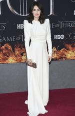 """Carice van Houten attends HBO's """"Game of Thrones"""" final season premiere at Radio City Music Hall on Wednesday, April 3, 2019, in New York. (Photo by Evan Agostini/Invision/AP)"""