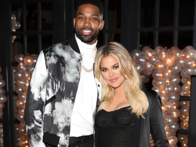 Tristan Thompson was allegedly seen kissing Jordyn at his own house party at the weekend.