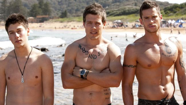 Brotherly love ... When The River Boys — aka, the Braxtons — arrived in Summer Bay they quickly became fan favourites. Picture: Supplied