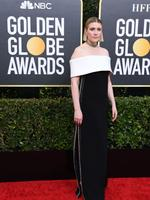 US actress and director Greta Gerwig arrives for the 77th annual Golden Globe Awards on January 5, 2020, at The Beverly Hilton hotel in Beverly Hills, California. (Photo by VALERIE MACON / AFP)