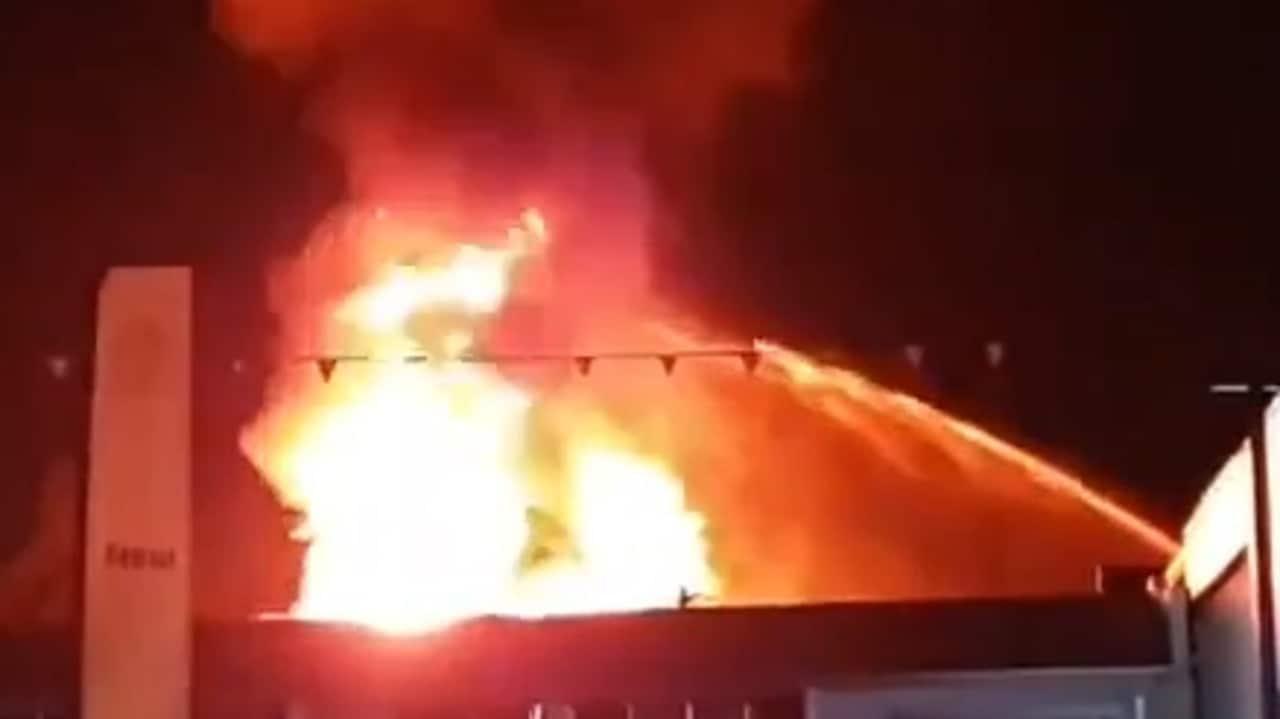 Brisbane fire: Albion building engulfed in massive blaze