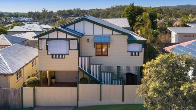 This five-bedroom house at 6 Birdwood Rd, Carina Heights, is for sale for offers of more than $750,000.