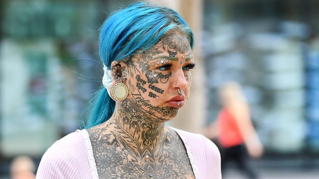Instagram model Amber Breeana Luke awaits sentencing over drug charges. Picture: NCA NewsWire / Dan Peled
