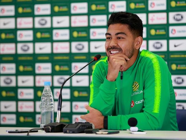 Who wouldn't pick this man? Massimo Luongo makes Marco Monteverde's starting XI. Picture: Toby Zerna