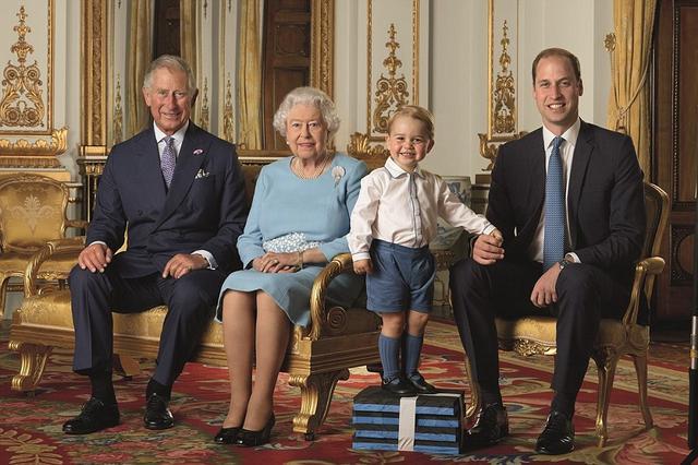 Royal stamp family photo