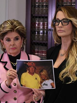 Gloria Allred represented Jessica Drake, one of the women to accuse Donald Trump of sexual harassment. Picture: AFP