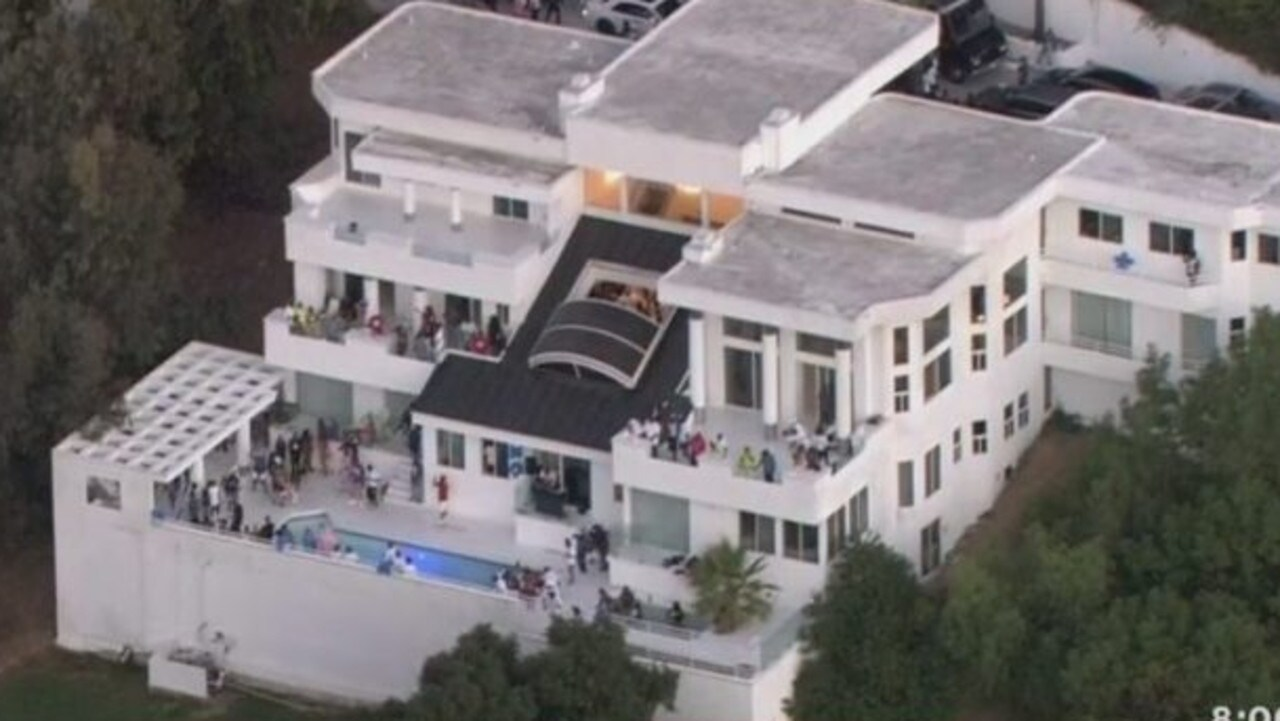 Partygoers in Hollywood gunned down (credit: CBS)