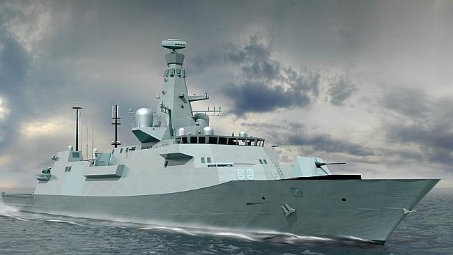 OPTION 1: British Type 26 Global Combat ship