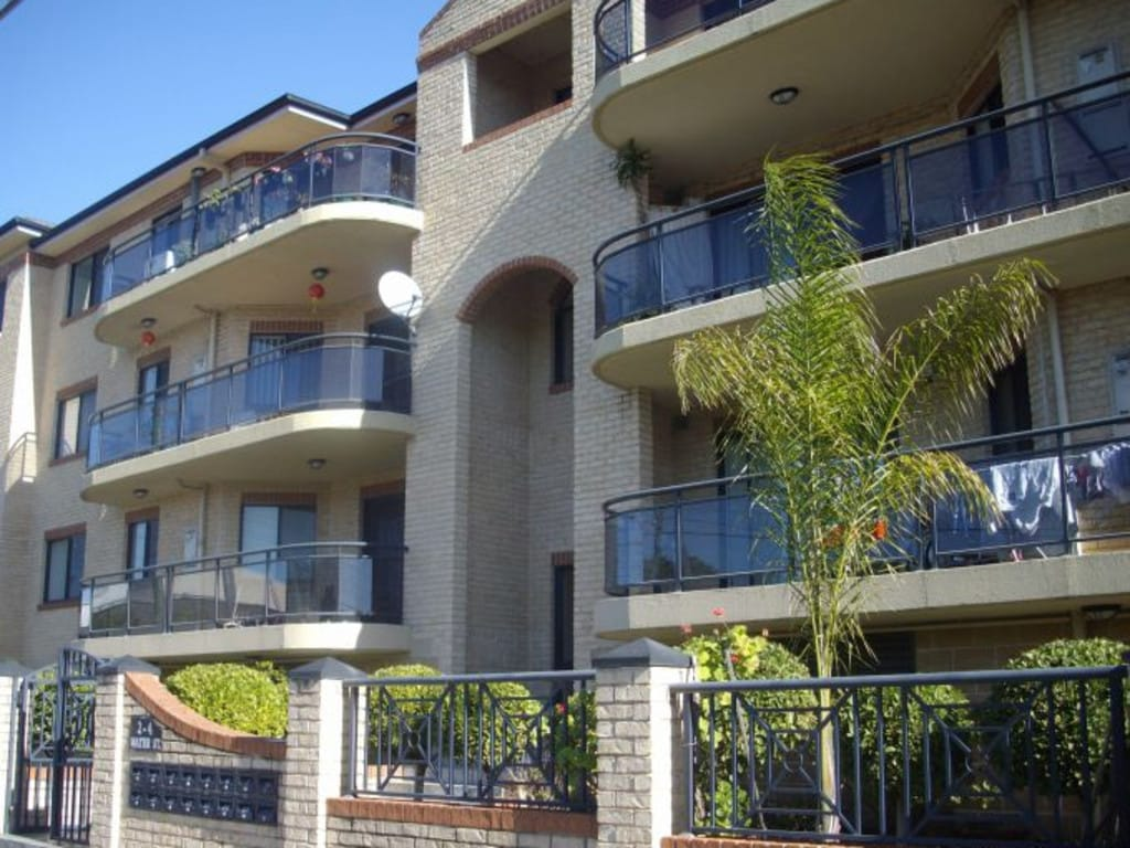 Mr Oueik's development at Water St, Lidcombe.