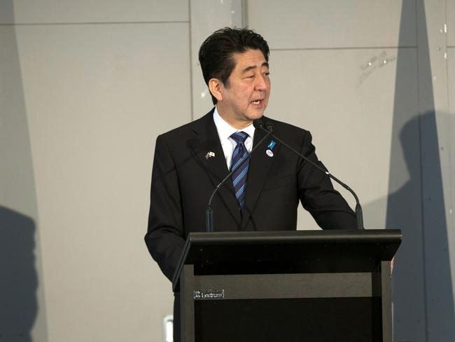 Japan's Prime Minister Shinzo Abe will bring a delegation of top business leaders with him.