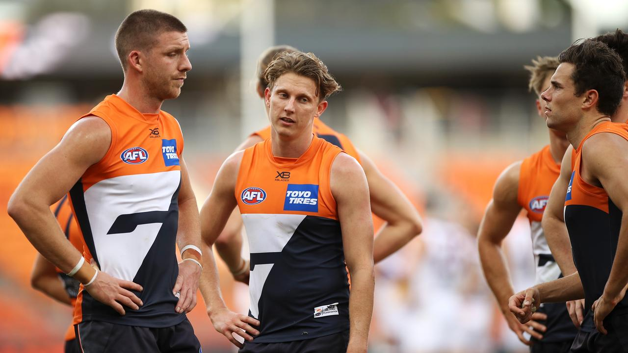 Can Lachie Whitfield and the Giants turn their fortunes around quickly? Picture: Mark Kolbe