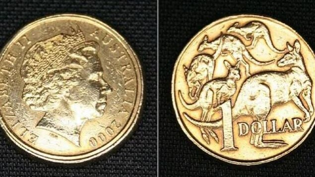 If your $1 coin from 2000 has two rings on it, you could be $4000 richer. Picture: eBay