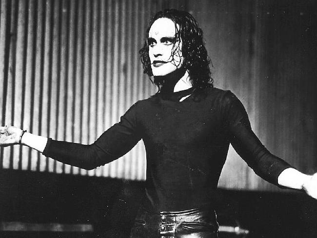 Brandon Lee from The Crow.