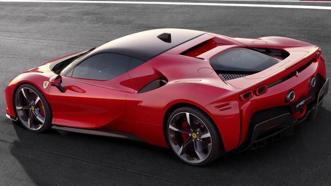 Ferrari has revealed its first plug-in hybrid.