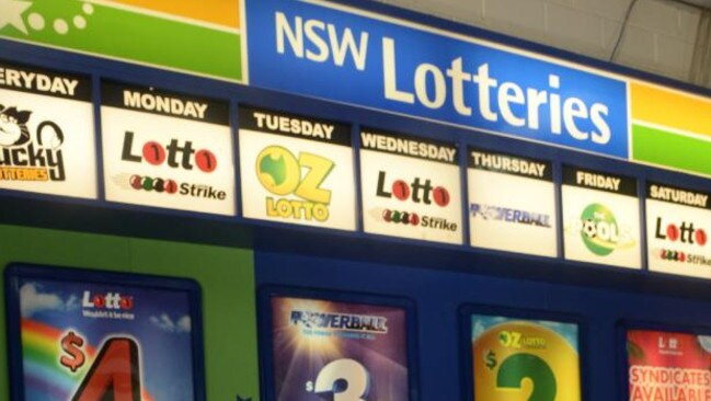 An unemployed battler from Western Sydney is now $50 million richer after winning the lottery. Picture: Ian Svegovic