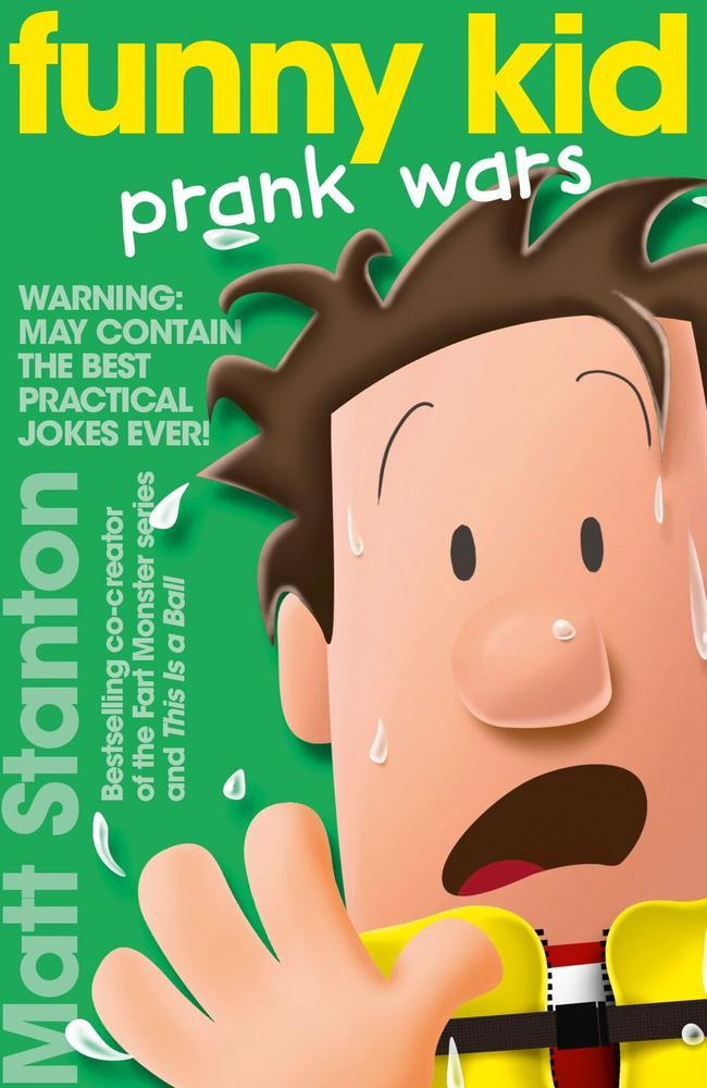 Cover art for Funny Kid Prank Wars by Matt Stanton.