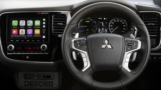 A new touchscreen highlights the interior updates.