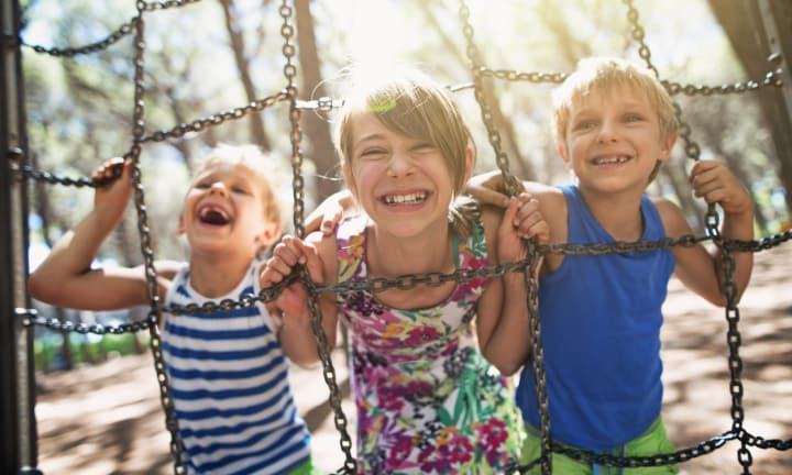 Here's why you should let your kids run wild at the park