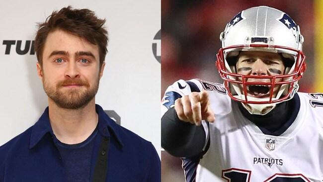 Daniel Radcliffe slams Tom Brady over MAGA hat
