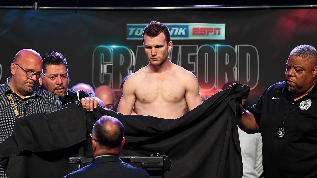 WBO welterweight champion Jeff Horn made weight on his second attempt.