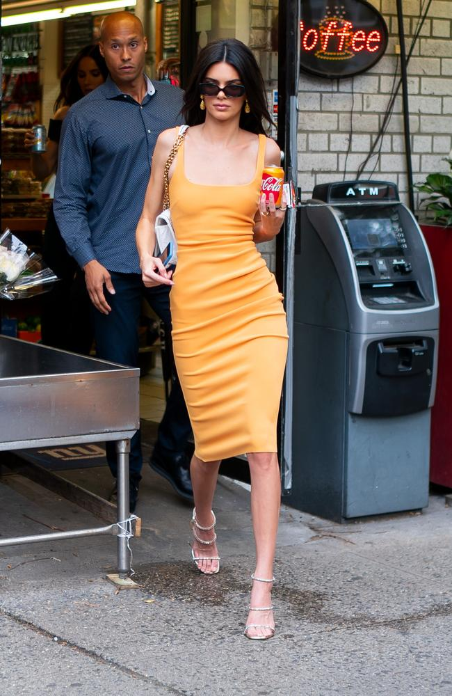 'Is this an ad?' Kendall Jenner and that Coke can. Picture: Gotham/GC Images