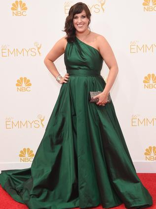 Allison Tolman attends the 66th Annual Primetime Emmy Awards.
