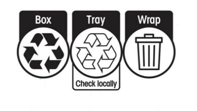 Woolworths Officeworks Back New Australian Recycling Label
