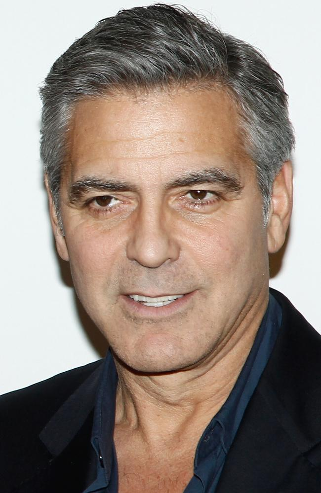 Flawless ... George Clooney, 53, hasn't had 'brotox' but he looks after his skin, experts say. Picture: Getty Images